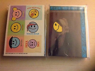 One Complete Set Of Stupid Smiles Cards (Garbage Pail Kids) UK & Rare