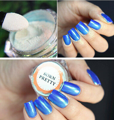 2g/Box Nail Art Glitter Pearl Dust Powder Shining  Tips DIY BORN PRETTY