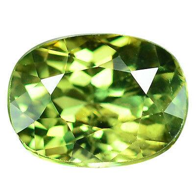 1.35 Ct. Loupe Clean Natural Russian Demantoid Garnet With Glc Certify