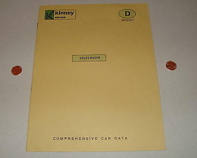Vintage @ 1967 Volkswagen Beetle Comprehensive Car Data Brochure Germany Prices