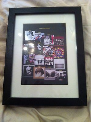 U2. Souvenir Framed Album Covers