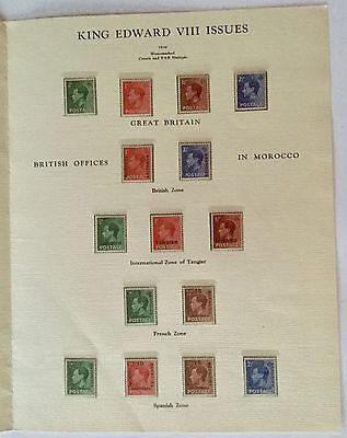 Edward Viii Envelope With Presentation Folder Mint Stamps Abdication/farewell