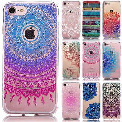 Ultra Slim Rubber Soft TPU Silicone Back Case Cover For Apple iPhone 7 7 Plus 6s