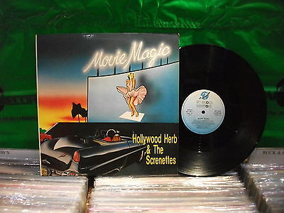 THE Hollywood Herb & Screnettes – Movie Magic ' 12'' N.MINT  SPAIN