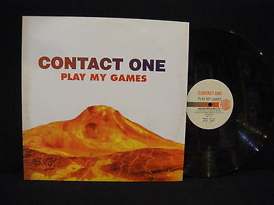 Contact One – Play My Games ' 12'' MINT SPAIN PRESS