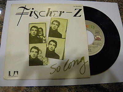 Fischer-Z ‎– So Long ' 7'' MINT SPAIN PRESS