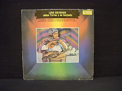 Jaime Torres Y Su Conjunto ‎– Luna Boliviana ' LP GOOD+  ARGENTINA PRESS