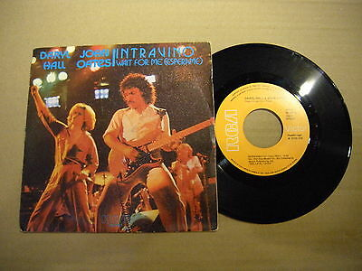 Daryl Hall & John Oates ‎– Intravino - ESPERAME ' 7'' MINT SPAIN PRESS