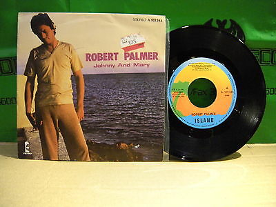 Robert Palmer ‎– Johnny & Mary ' 7'' MINT SPAIN
