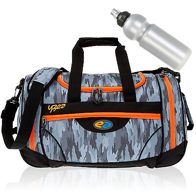 Sporttasche YZEA by TAKE IT EASY SPORTS Schulsporttasche Tasche 622 CAMO +Flasch
