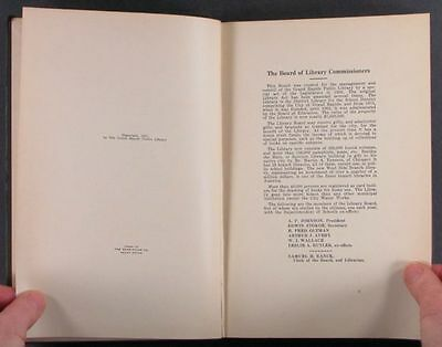 1927 Furniture Book Reference Collection - the Grand Rapids Library Catalog