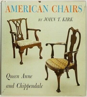 Antique American Chairs - Queen Anne & Chippendale - Kirk Classic