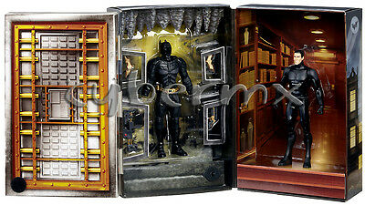 Batman Bruce Wayne Dark Knight Rises Movie Masters Figure Sdcc 2012 Exclusive