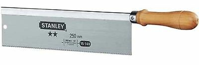 Stanley Gents Backsaw 10in 1 15 140 NEW