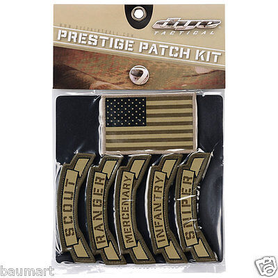 Dye Tactical Prestige Patch Kit Unit Emblem Airsoft Paintball PaintNoMore Magfed