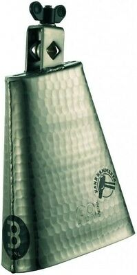 Meinl STB625HH-Gl Hammered 6 1/4 inch Cowbell, Hand Brushed Gold