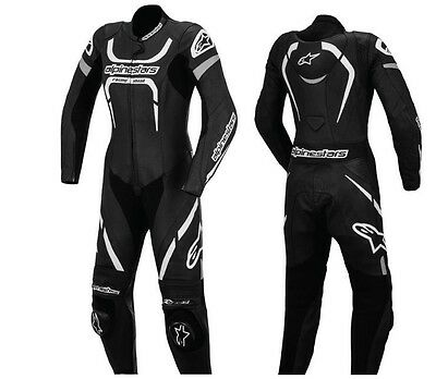 Alpinestars MOTEGI One Piece Suit Black Leather Motorcycle Cheapest on ebay