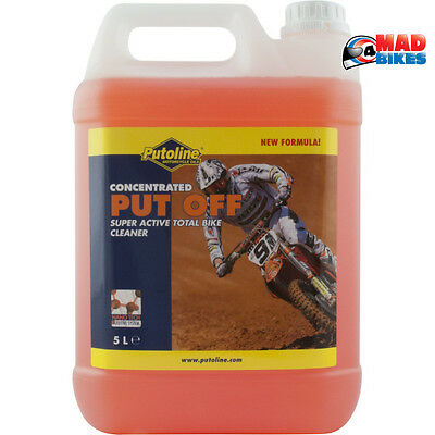 Putoline Put Off Concentrated Nano Tech Off Road MX Motocross Motorcycle Cleaner