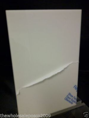 White Perspex Acrylic Sheet Cast Material 5mm 210mm x 76mm offcut Plastic Panel
