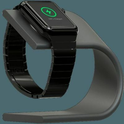 """Nomad - Space Gray Charging Stand (stand-apple-sg-001) for Apple Watch """"Open Box"""