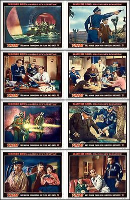 THEM! JAMES ARNESS SCI-FI Complete Set Of 8 Individual 8x10 LC Prints 1954