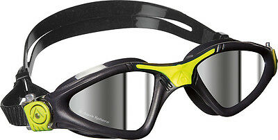 Aqua Sphere Mirrored -Lime Kayenne Mens Swimming Goggle Open Water & Competition