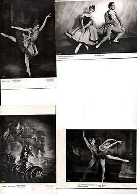 Job Lot 12 Different Photos Various Artists From Various Ballets Vg/cond L2