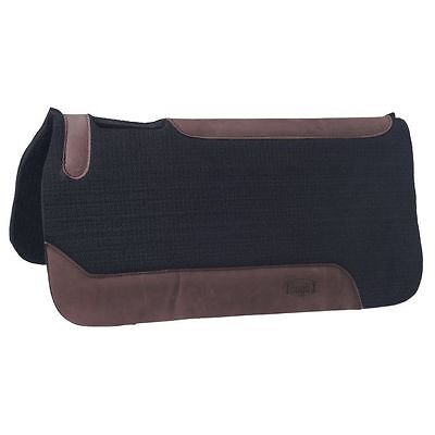 Tough-1 Saddle Pad Flow Felt Rite Shock Absorber 32 x 32 Black 31-2595
