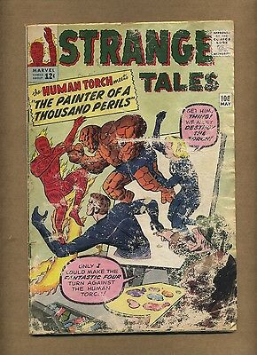 Strange Tales 108 (Lower-Grade) Marvel 1963 Fantastic Four KIRBY Ditko (c#12695)