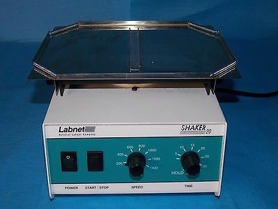 Labnet Obital Micorplate Shaker 20 Model #20T Used Excellent Condition