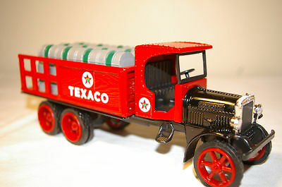 TEXACO 1925 Kenworth Stake Truck Coin Bank Metal Die Cast Series #9
