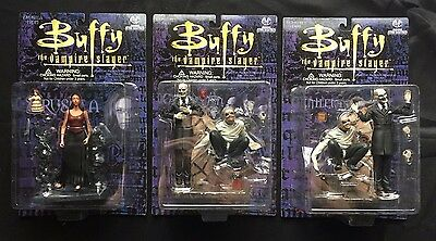 MOORE COLLECTIBLES Buffy the Vampire Slayer Series 4 Action Figure Set 1999 E9