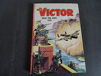 The Victor - Book for Boys - 1970 Annual - Good condition. Unclipped