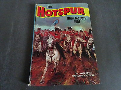 The Hotspur - Book for Boys - 1967 Annual - Good condition. Unclipped