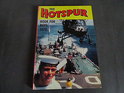 The Hotspur - Book for Boys - 1972 Annual - Good condition. Unclipped