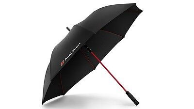 Original Audi Stick Umbrella large Audi Sport black umbrella Audi big black