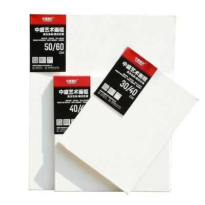 Artist Blank Canvas Frame Acrylic Cotton&Linen Blend Oil Water Painting Board