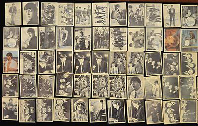 Lot of 76 1964 Topps Beatles Cards. Series 1, 2 and Color.