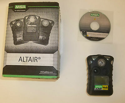 MSA Altair  0-100 PPM LCD Hydrogen Sulfide H2S Single-gas Detector 10092521