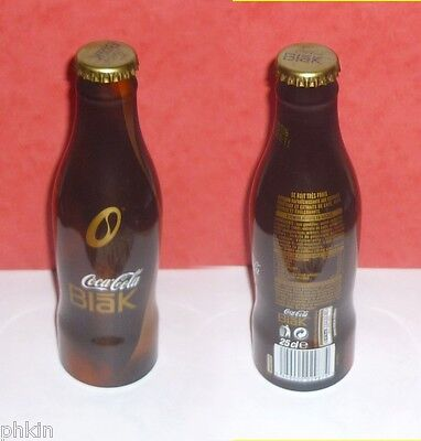 "1 Bouteille/bottle Coca Cola Alu "" Blak "" 2006 France  Full  Pleine"