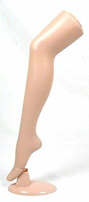 "Standing Female Mannequin Leg Sock and Hosiery Display Foot 30"" Tall Selection"