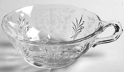 Fostoria NAVARRE CLEAR Baroque One Handled Flared Nappy 6745692