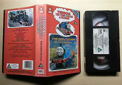 Thomas The Tank Engine & Friends - The Deputation - Vhs Video