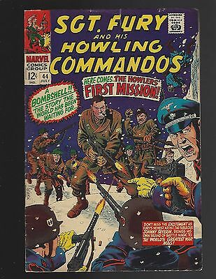 Sgt Fury & His Howling Commandos #44 First Mission