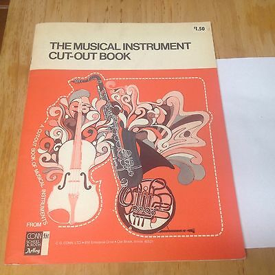 The Musical Instrument Cut-out Book- CG Conn 1976