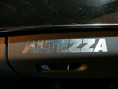 (2pcs) dashboard badge sticker decal Lexus IS300 *ALTEZZA*