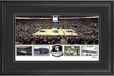 Breslin Student Events Center Michigan State Spartans Framed Panoramic Collage