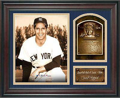 Phil Rizzuto Baseball Hall of Fame Framed 15x17 Collage w/ Facsimile Signature