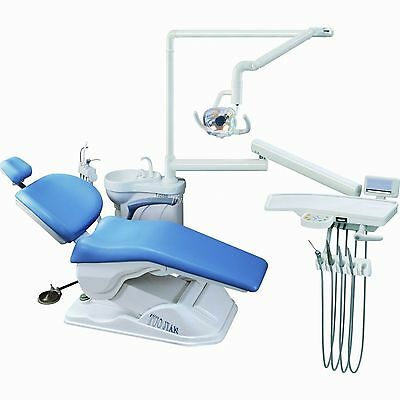 Computer Controlled Dental Unit Chair FDA CE Approved A1 Model Hard Leather