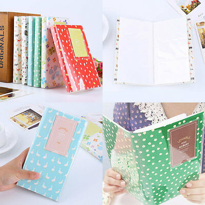 84 Photos Album Storage Case Book EB For Fujifilm Polaroid Fuji Instax Mini Film